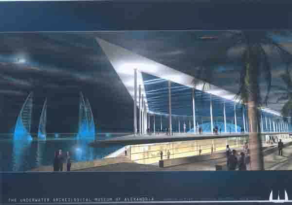Feasibility study for first underwater museum for egyptian antiquities