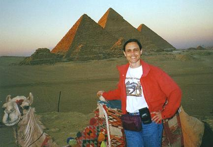 Andrew at Giza - 1997