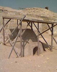 Guardian's Giza Excavation - Copyright 1997 Andrew Bayuk, All Rights Reserved